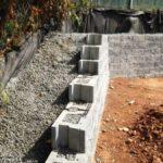 Подпирание стенки вынутого грунта