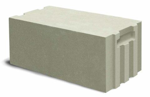 Стеновой газобетонный блок