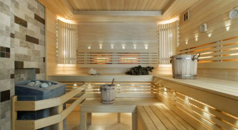 Современная домашняя баня